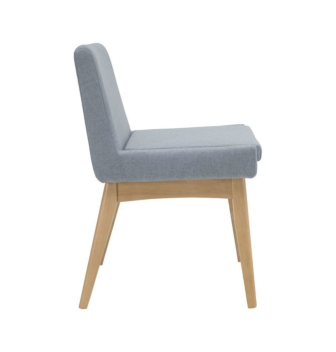 Chanel Dining Chair - Aquamarine & Natural