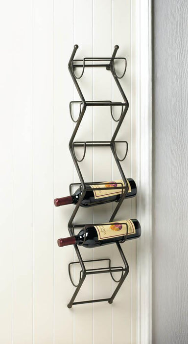 Chevron Wall Wine Holder Home Decor Humbly Nobly