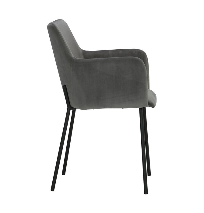Desta Dining Armchair - Steel Humbly Nobly