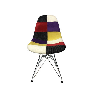 DSR Eiffel Patchwork Chair - C - Reproduction Humbly Nobly