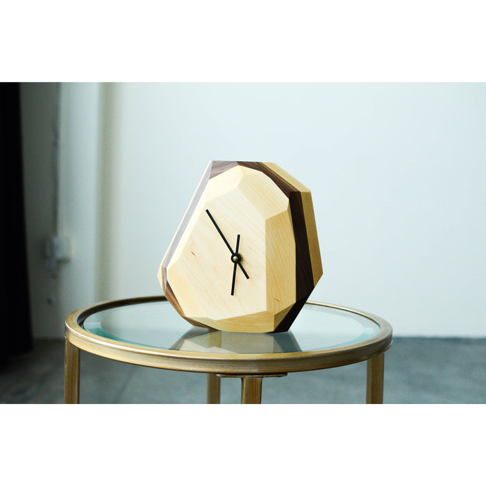 Geometric Wall & Table Clock Home - Furniture THE IRON ROOTS DESIGNS