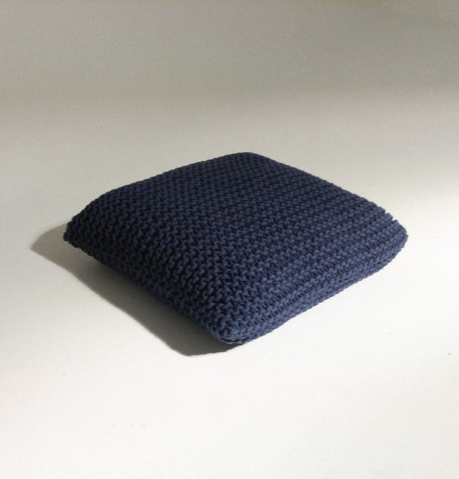 Handmade Knitted Floor Cushion | Reflecting Pond Humbly Nobly