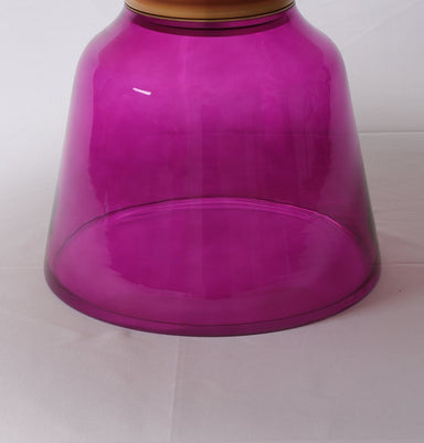 Karin Table Coffee Table - Gold & Purple Home Decor Humbly Nobly