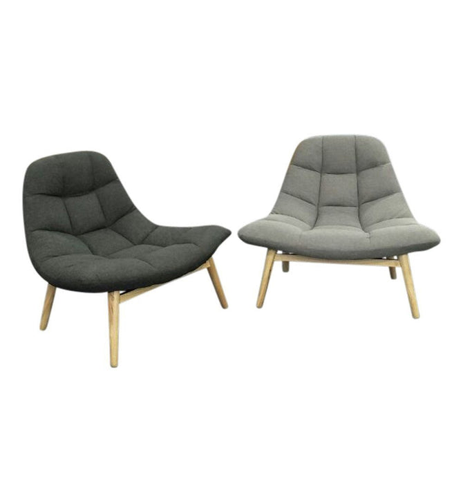 Maja Lounge Chair - Dark Grey