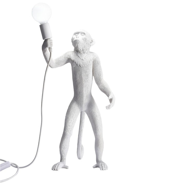 Monkey Table Lamp - Stand - Reproduction Humbly Nobly