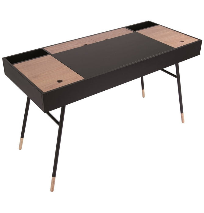 Morse Working Desk - Black Humbly Nobly