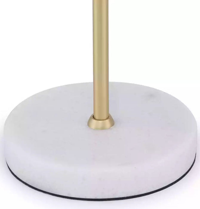 Rachel Single Arm Table Lamp - Marble Base Humbly Nobly