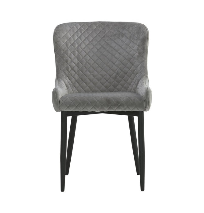 Saskia Dining Chair - Steel Humbly Nobly