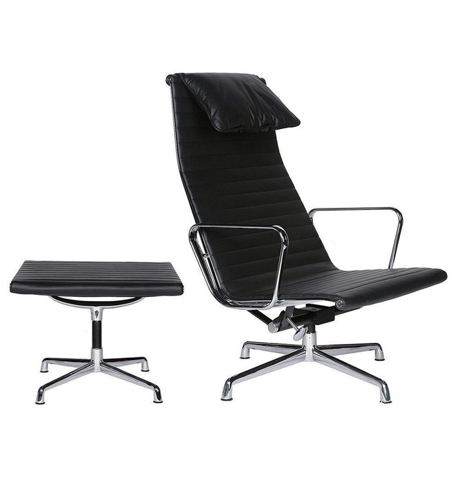 Thore Office Chair & Ottoman