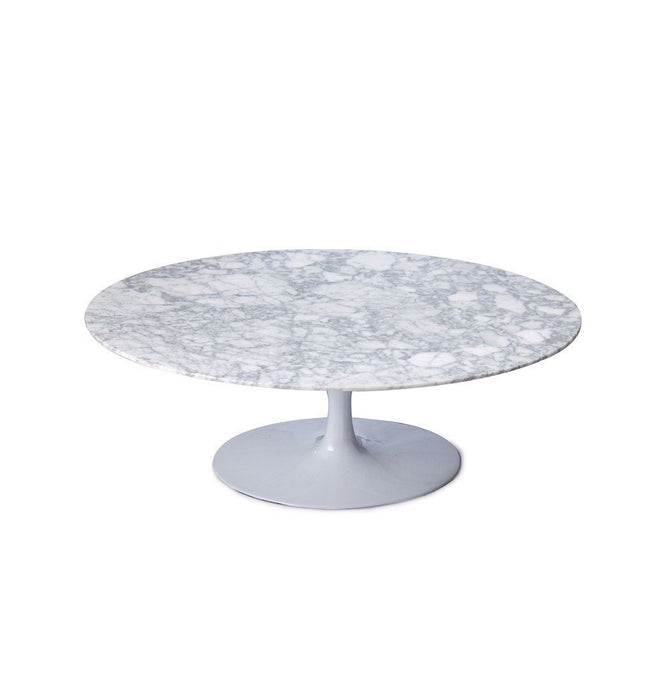Tulip Coffee Table - Oval - Reproduction Black / Small Humbly Nobly