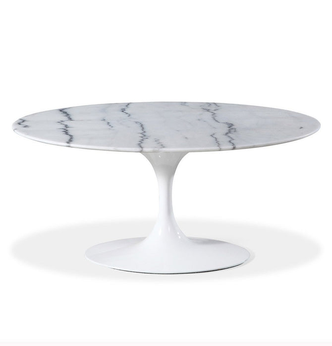 Tulip Coffee Table - Oval - Reproduction Standard / Large Humbly Nobly