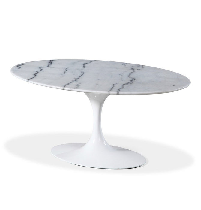 Tulip Coffee Table - Oval - Reproduction Standard / Small Humbly Nobly