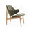 Veronic Lounge Chair - Oak & Forest Humbly Nobly