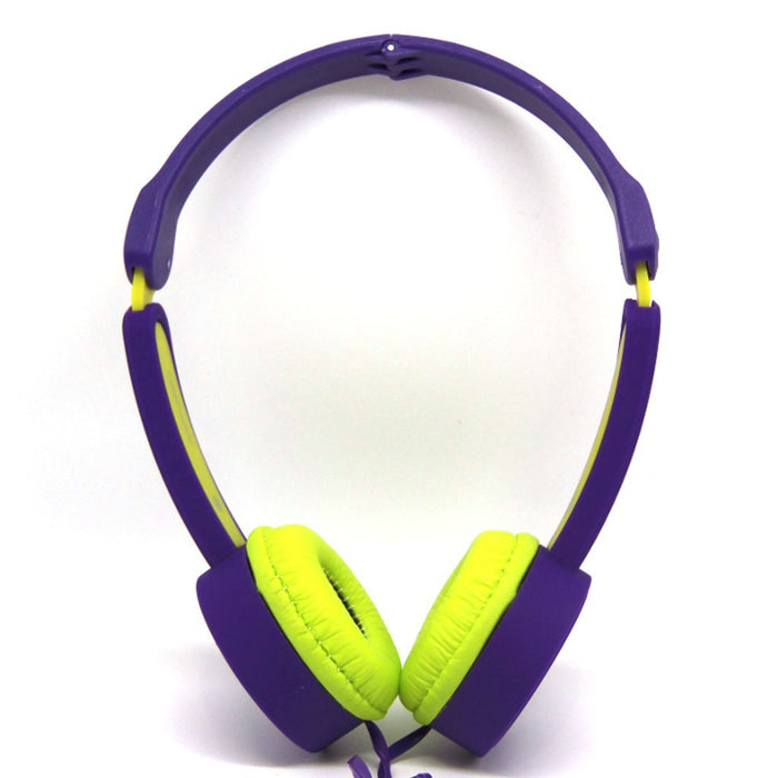 Volume Limiting Headphones For Kids By Polaroid Electronics Blue/Lime Humbly Nobly