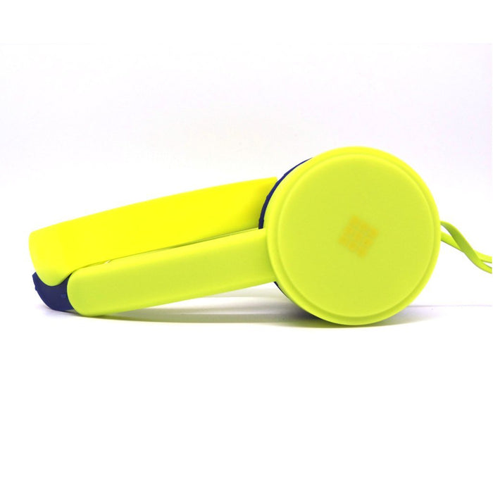 Volume Limiting Headphones For Kids By Polaroid Electronics Yellow/Blue Humbly Nobly