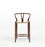 Wishbone CH24 Y Chair Counter Stool - Walnut & Natural Cord - Reproduction Humbly Nobly