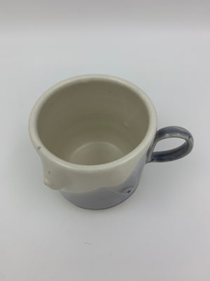 Boob Mug  - Rainy Day over Matte White