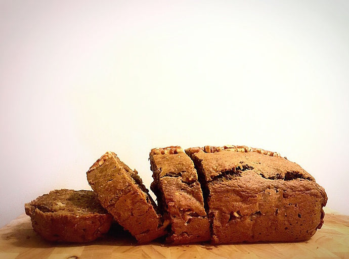 Toasted Walnut Banana Bread