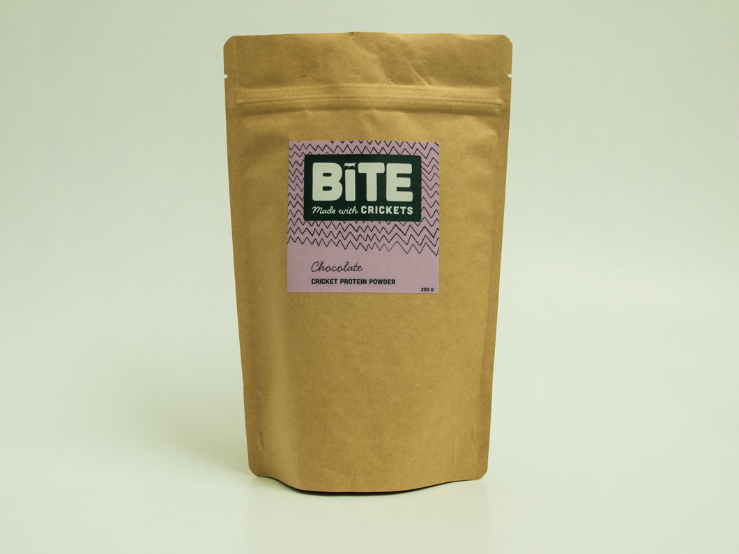 Bite Snacks Chocolate Cricket Protein Powder