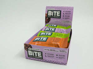 Bite Snacks Cricket Protein Energy Bar Mixed Box