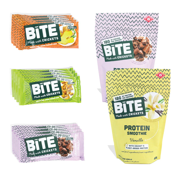 bite snacks cricket protein