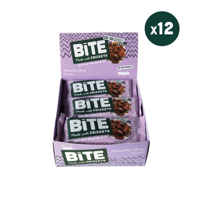 Chocolate Chirp - Cricket Protein Energy Bar (NEW)
