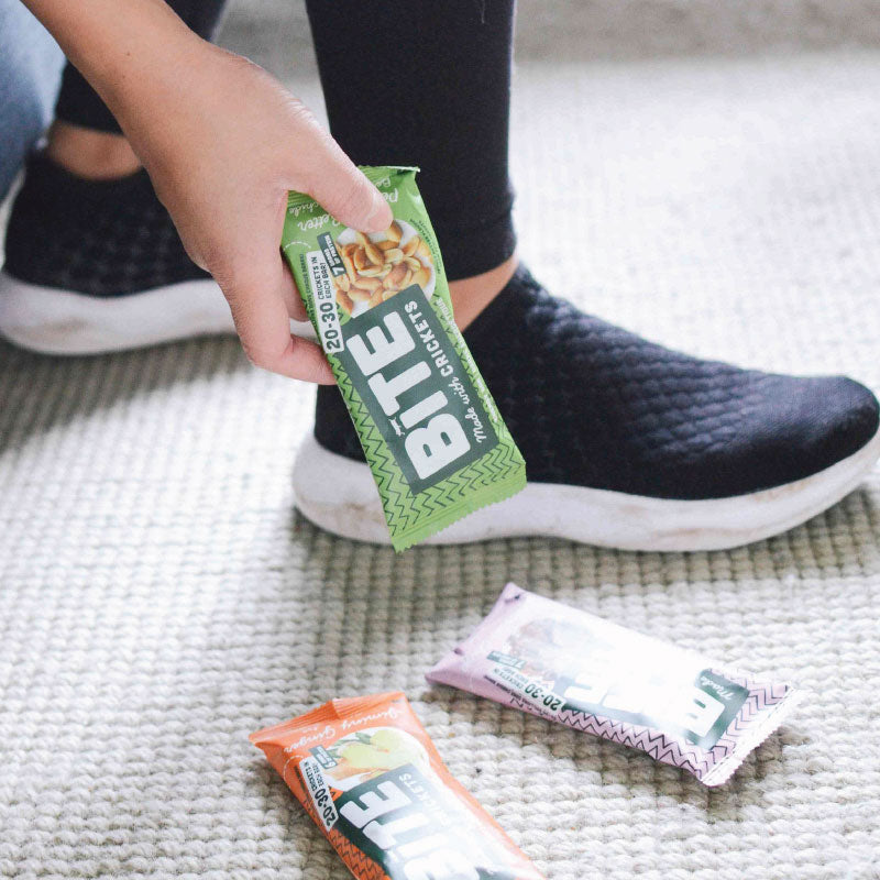 cricket protein energy bars peanut butter