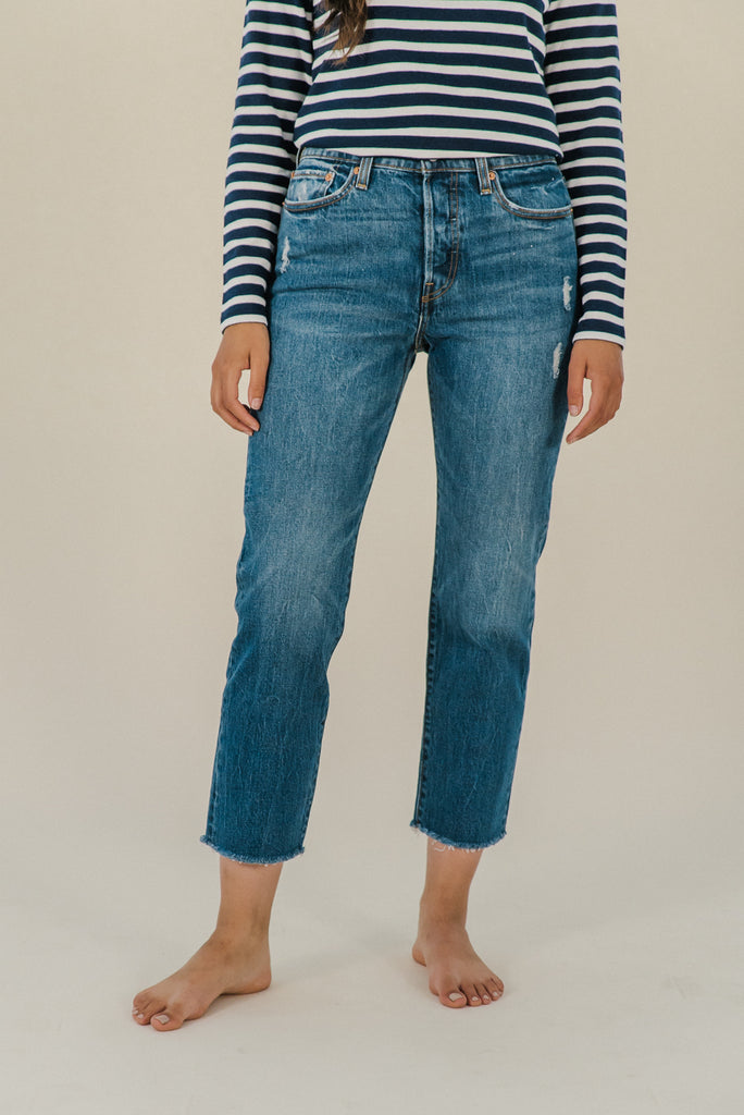 Wedgie Straight Jean | Lasting Impression