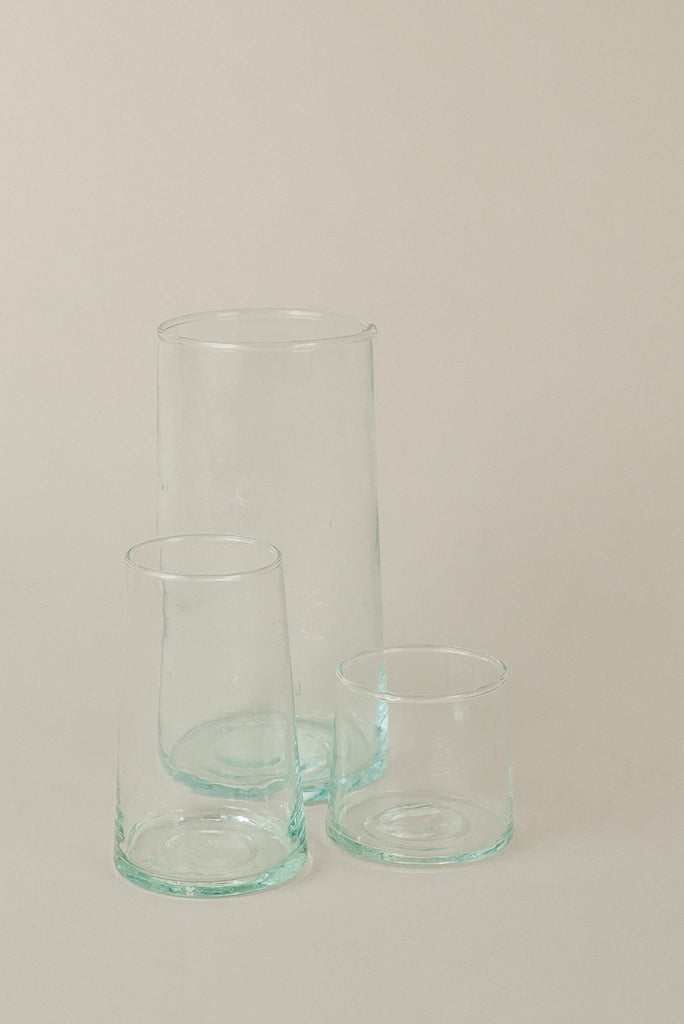 Recycled Glassware | Large Glass