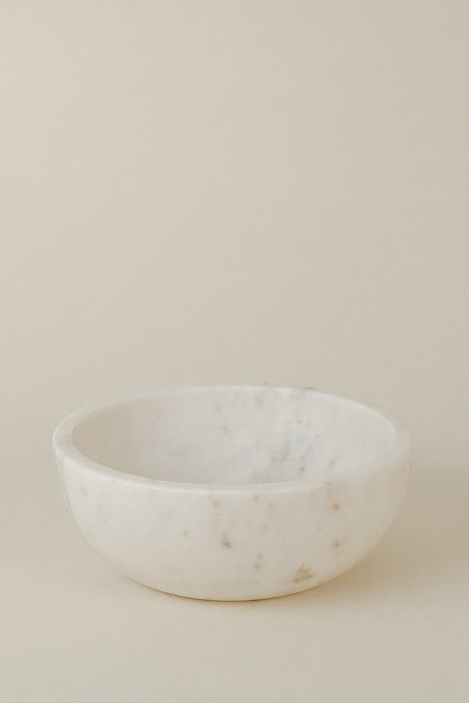 Large Bowl | White Marble