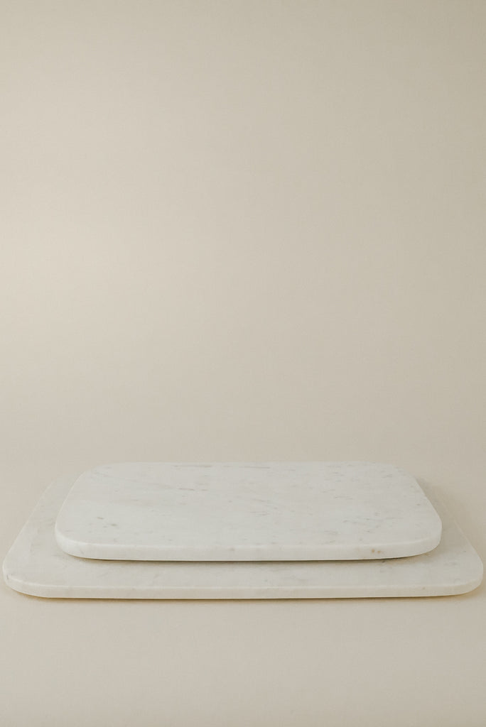Small Serving Board | White Marble
