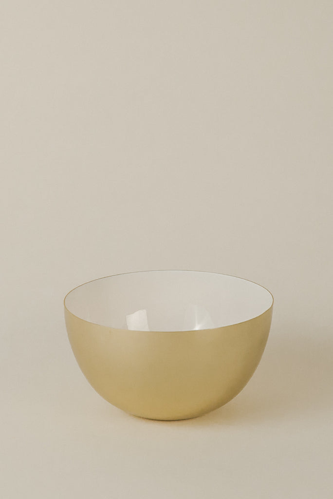 Extra Small Bowl | White/Brass