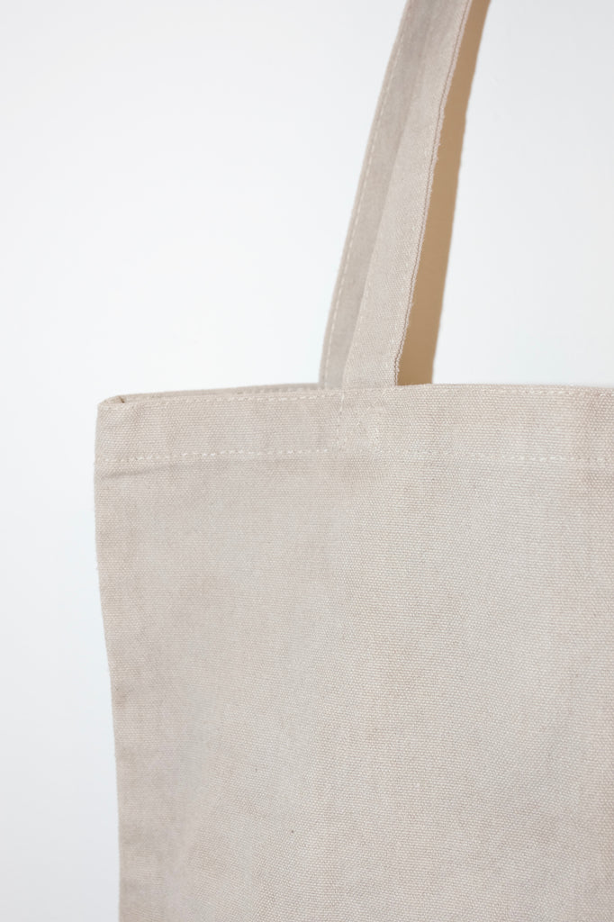 Canvas Tote | Light Grey