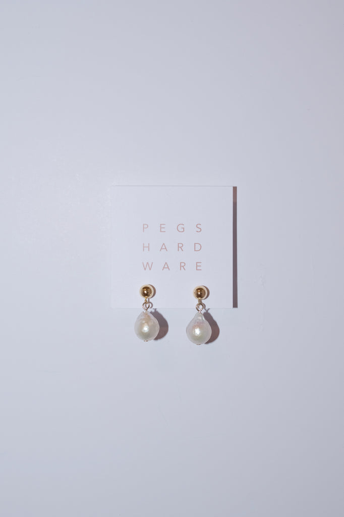 Pearl Drop Earrings | Pearl