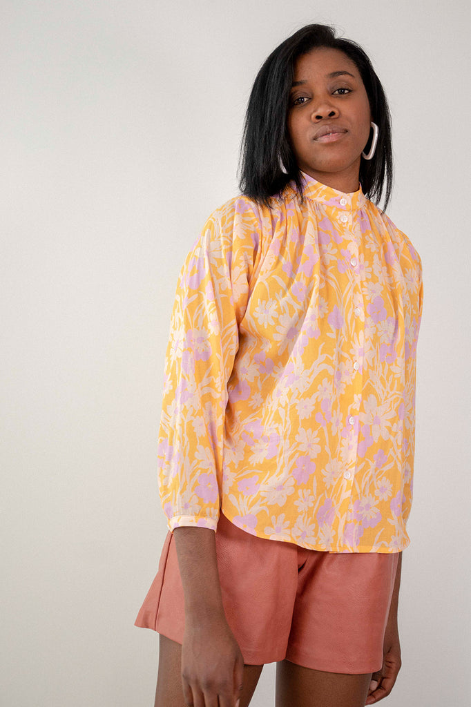 Quinn Blouse | Apricot Meadow