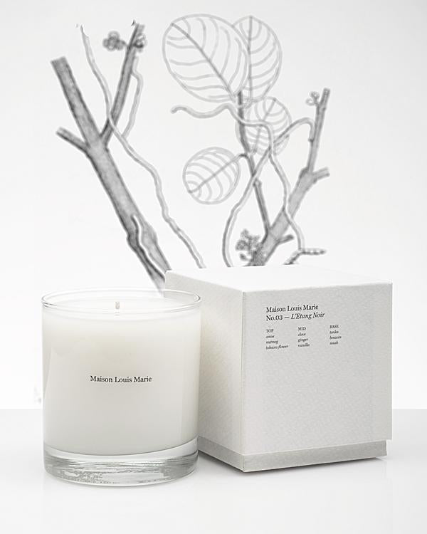Candle | No.03 L'Etang Noir