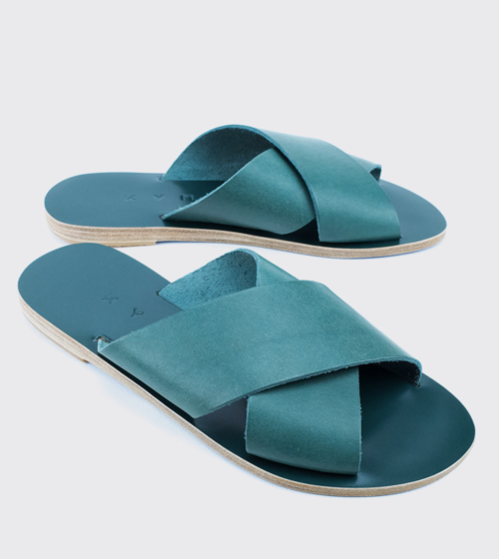 Chios Sandal | Emerald