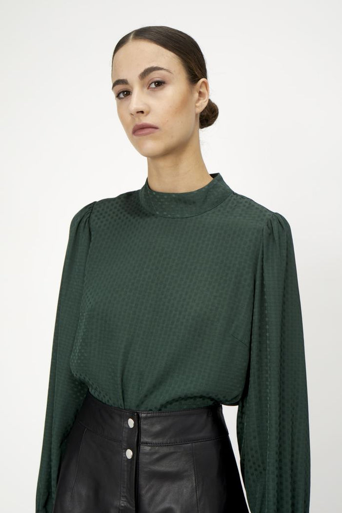 Eve Blouse | Dark Green