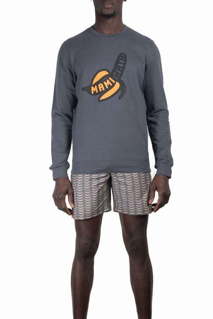 Banana Sweatshirt | Charcoal