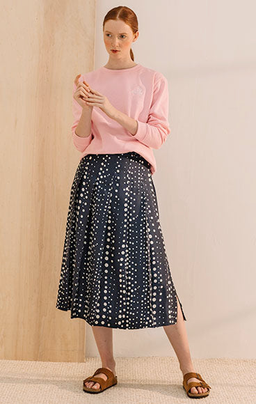 Eddie Skirt | Navy