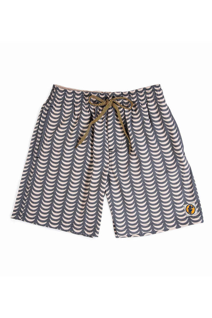 Tofo Surf Trunks | Ecru/Black