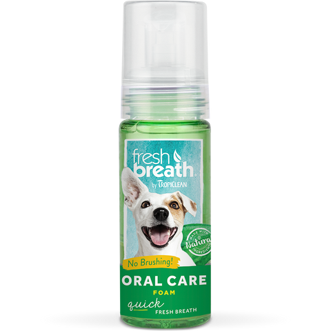 Tropiclean Fresh Breath Mint Foam (133ml)
