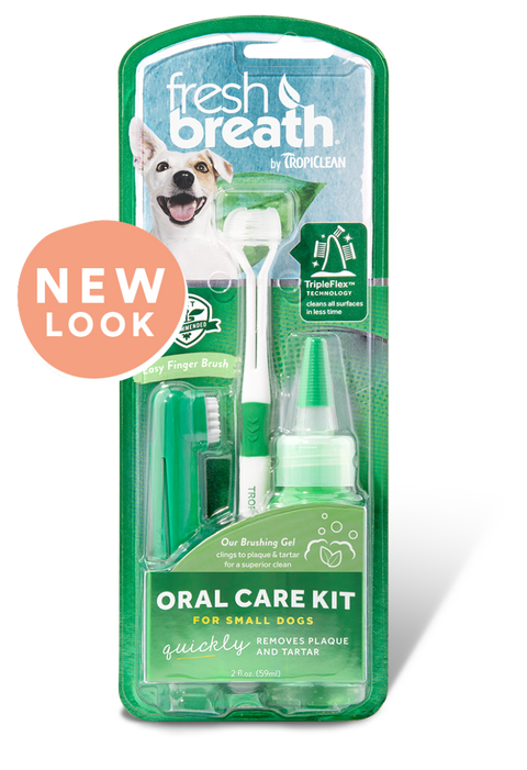 Tropiclean Fresh Breath Oral Care Traditional Kit for Puppies