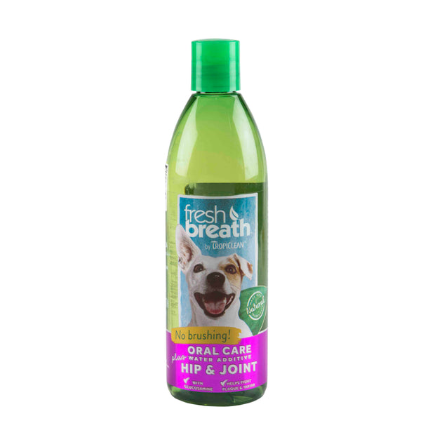 Tropiclean Fresh Breath Hip & Joint Water Additive (473ml)