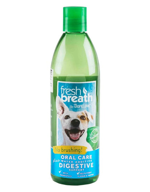 Tropiclean Fresh Breath Digestive Support Water Additive (473ml)