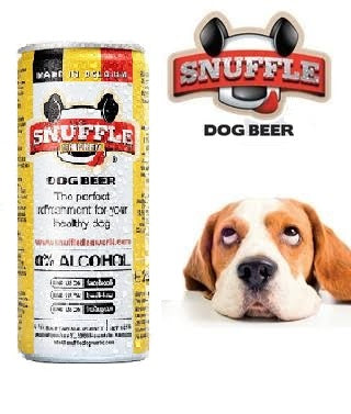 Snuffle Chicken Dog Beer Can (330 ml)
