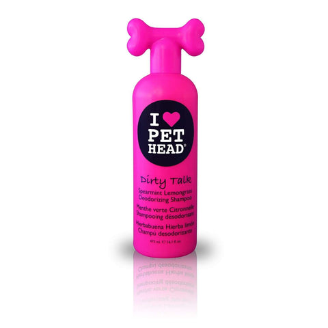 Pet Head Dirty Talk Deodorizing Shampoo -Spearmint Lemongrass