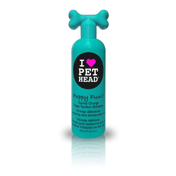 Pet Head Puppy Fun Puppy Tearless Shampoo – Yummy Orange