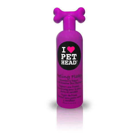 Pet Head Feeling Flaky Dry & Sensitive Skin Shampoo – Strawberry Yogurt