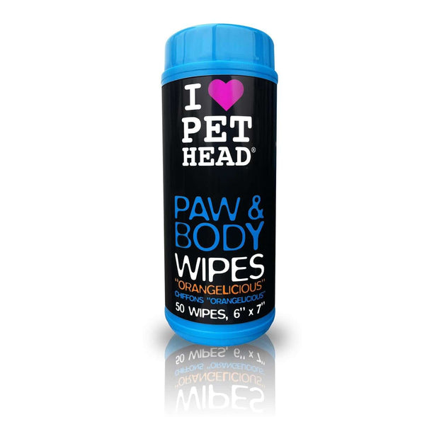 Pet Head Paw & Body Wipes – Orangelicious